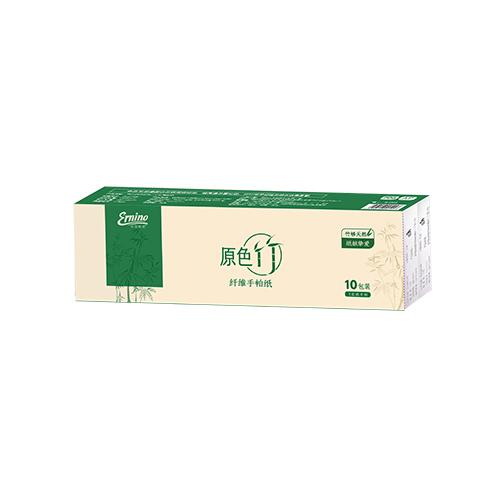 原色竹纤维手帕纸