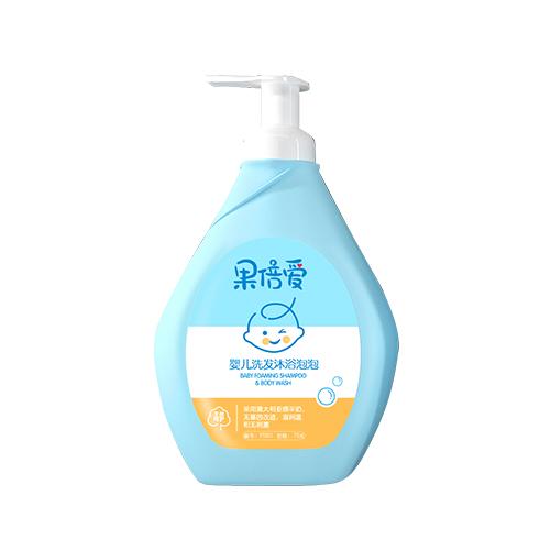 婴儿洗发沐浴泡泡